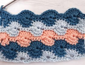 how to crochet the catherine's wheel crochet stitch