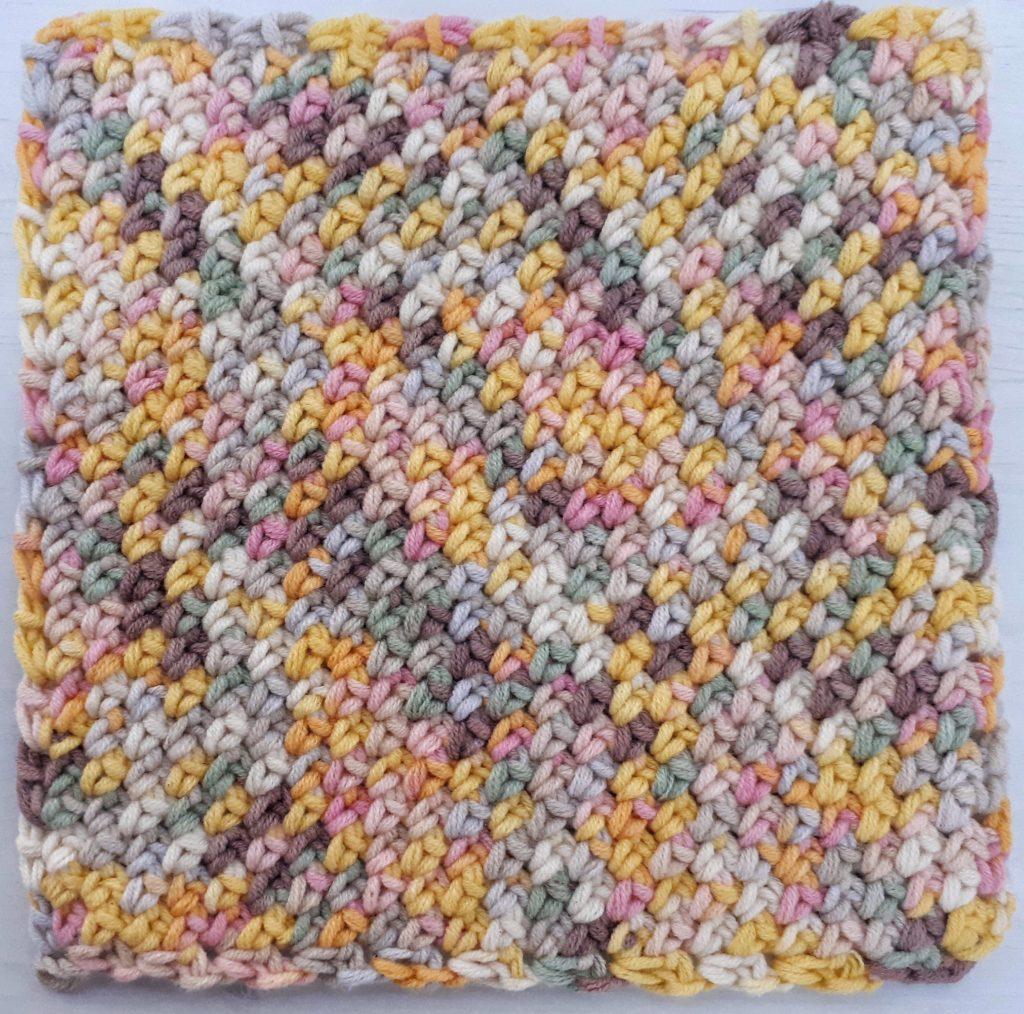c2c moss stitch pattern