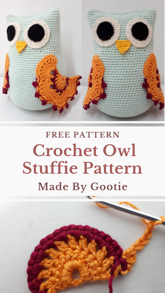 crochet owl stuffie pattern