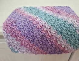 crochet wattle stitch washcloth free pattern