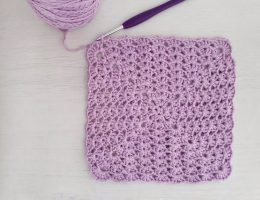 iris stitch in a square