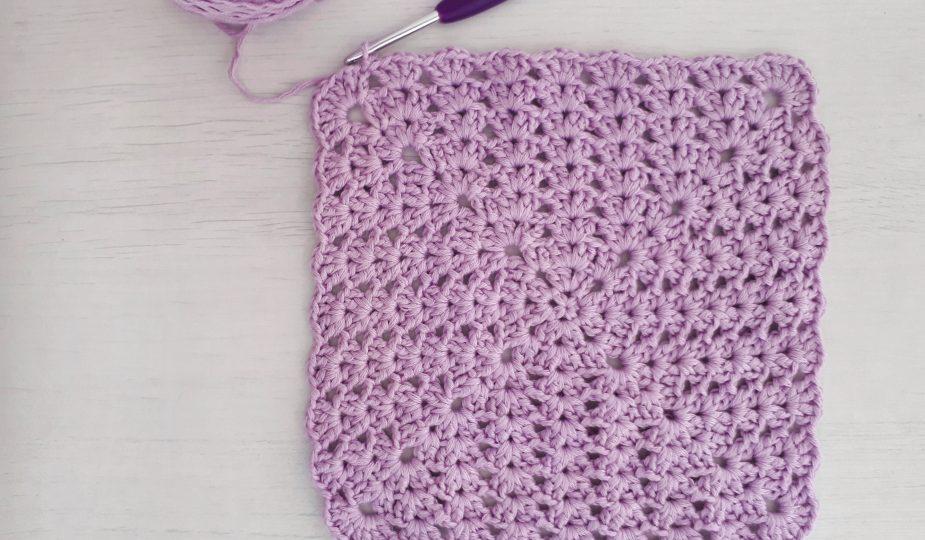 iris stitch in a square