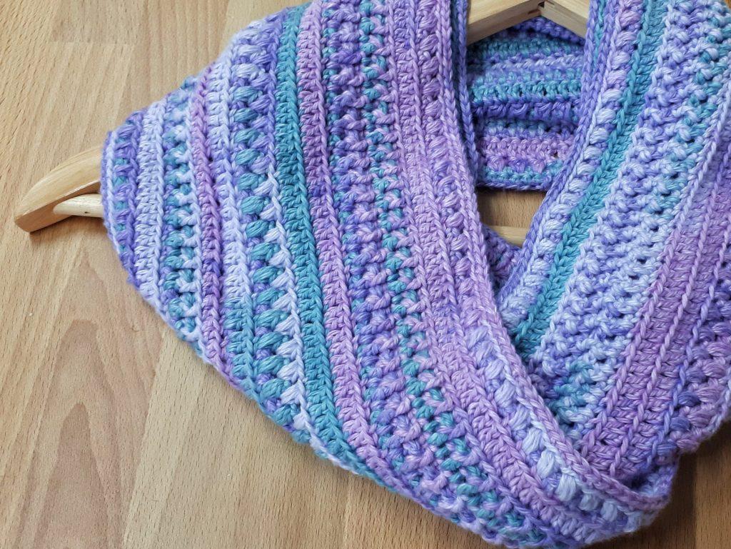 infinity scarf free crochet instructions