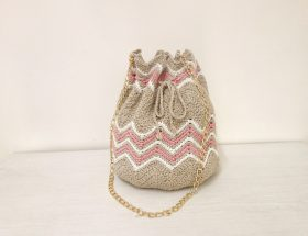 crochet bucket bag free pattern