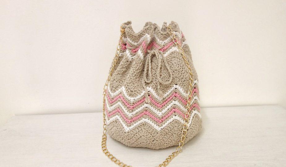 crochet bucket bag free pattern