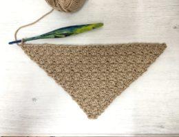 free c2c crochet cluster stitch pattern
