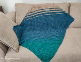 crochet cluster blanket